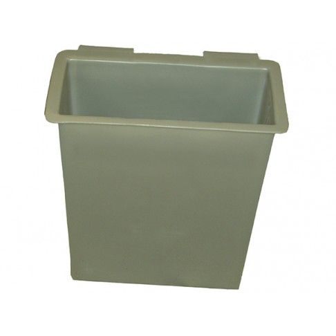 "14DTB Tool Tray, 19 x 7 x 24"", Outside Mount, Gray"