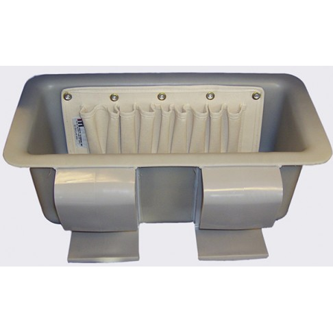 1tb Tp9 Tool Tray With 9 Pocket Pouch 19 X 8