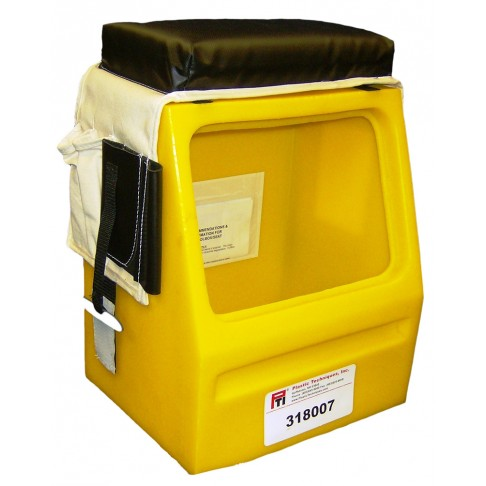 Splicer Seat Tool Box 12 X 8 5 Quot Opening Yellow