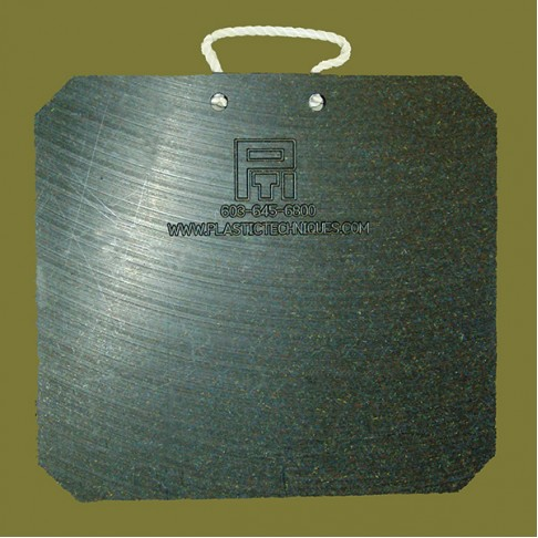 """519008 Outrigger Pad, 18 x 18 x 1"""", Corrosion-resistant"""