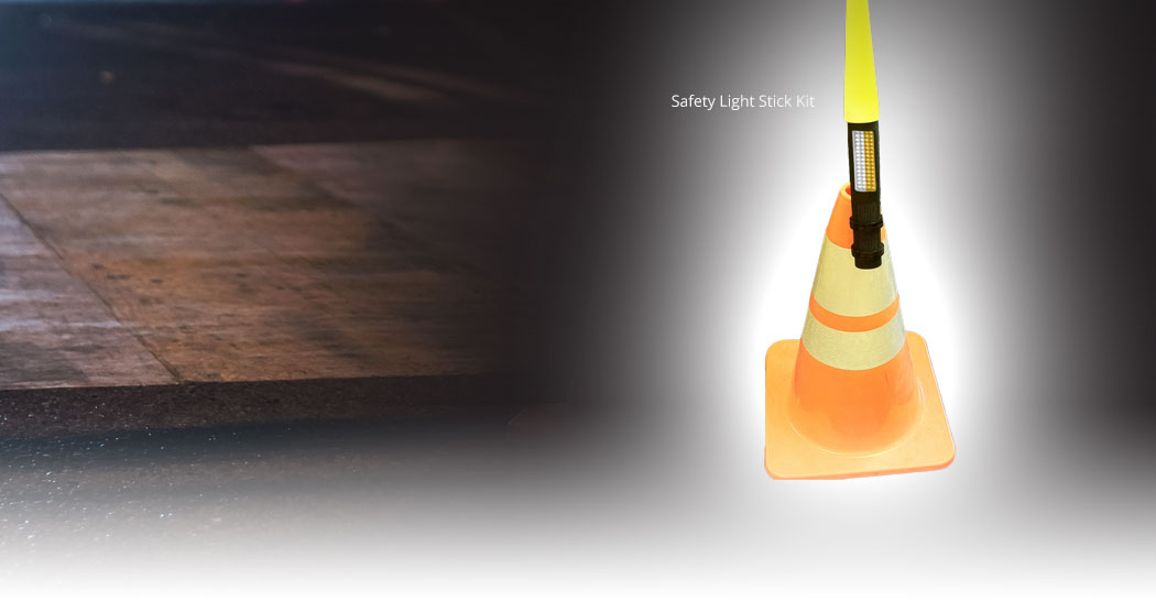 BUCKET TRUCK SAFETY LIGHTS