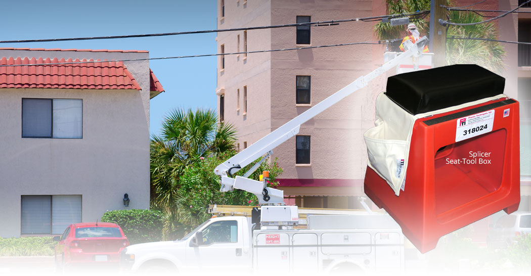 BUCKET TRUCK ACCESSORIES DESIGNED FOR COMFORT