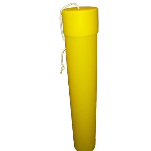 "BC-36Y Blanket Canister, 36""L x 6"", Yellow"