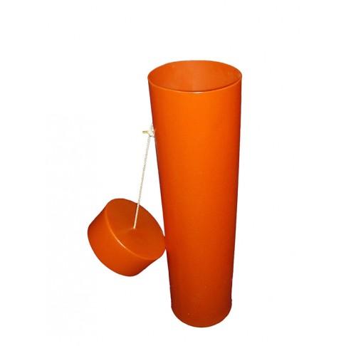"BC2-36O Blanket Canister, 36""L x 10"", Orange"
