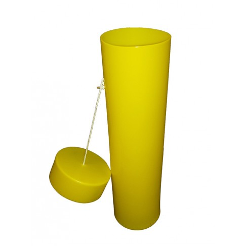 """BC2-36Y Blanket Canister, 36""""L x 10"""", Yellow"""