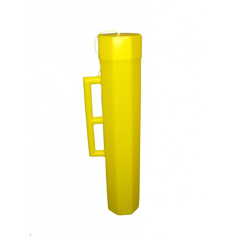 "BC4-36Y Blanket Canister, 36""L x 7"", Yellow, Octagon"