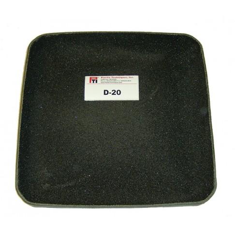 """D-20 Tru-Grit Scuff Pad, Copolymer, 20"""" Square"""