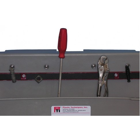 """319016 Magnetic Tool Bar installed in Tray or Organizer, 18"""""""