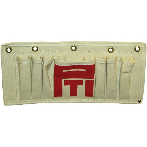 TP-7 Tool Tray Tool Pouch, Canvas, 7 Pockets